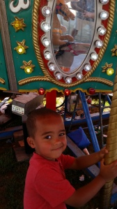 Javan on the Merry Go Round